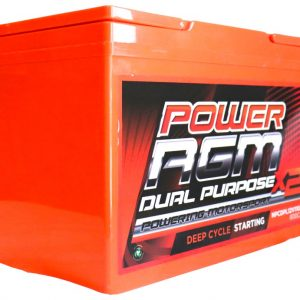 Power AGM NPCDPL12V110AH Dual Purpose Battery side