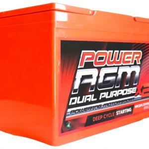 Power AGM NPCDPL12V110AH Dual Purpose Battery side