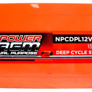 Power AGM NPCDPL12V270AH Dual Purpose Battery top