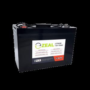Zeal 100AH Lithium Deep Cycle Battery