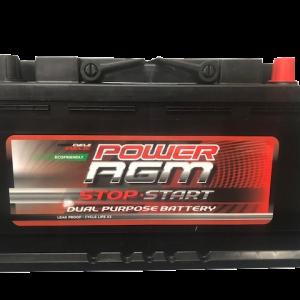 NPC-ISS77H BATTERY (FRONT) Stop Start Power AGM